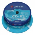 CD-R 700MB VERBATIM 52x Extra Protection Spindle P/25